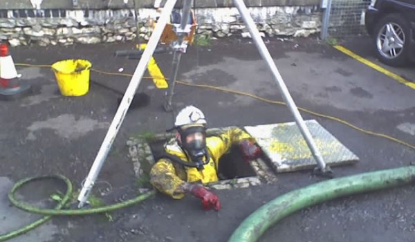Specialist Services - confined space operations
