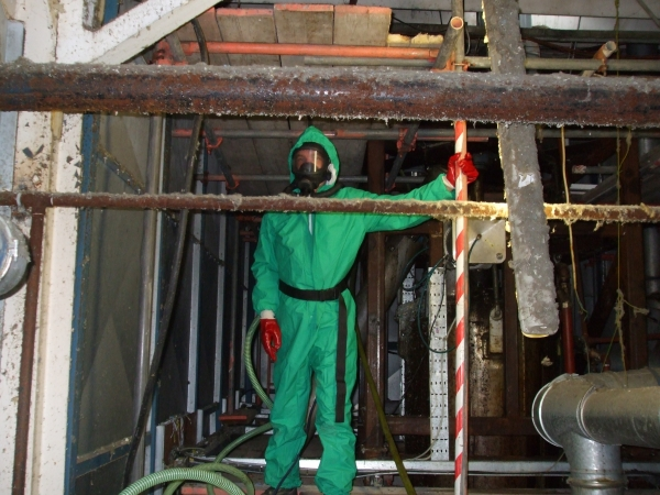 Specialist Services - hazardous cleaning